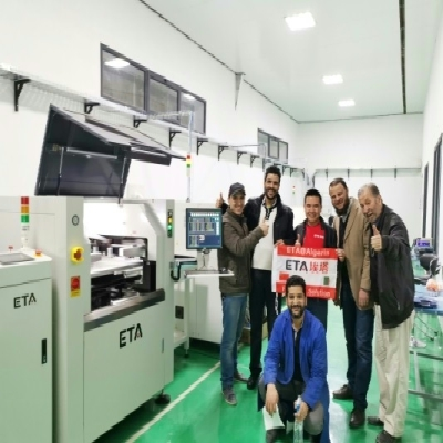 LED TV Production Line in Algeria.